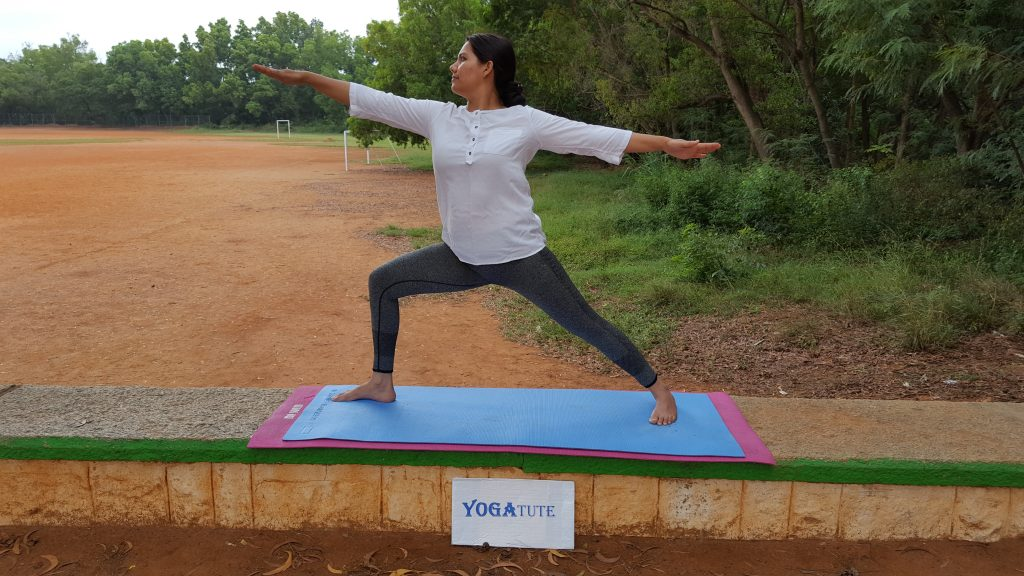 warrior Virabhadrasana