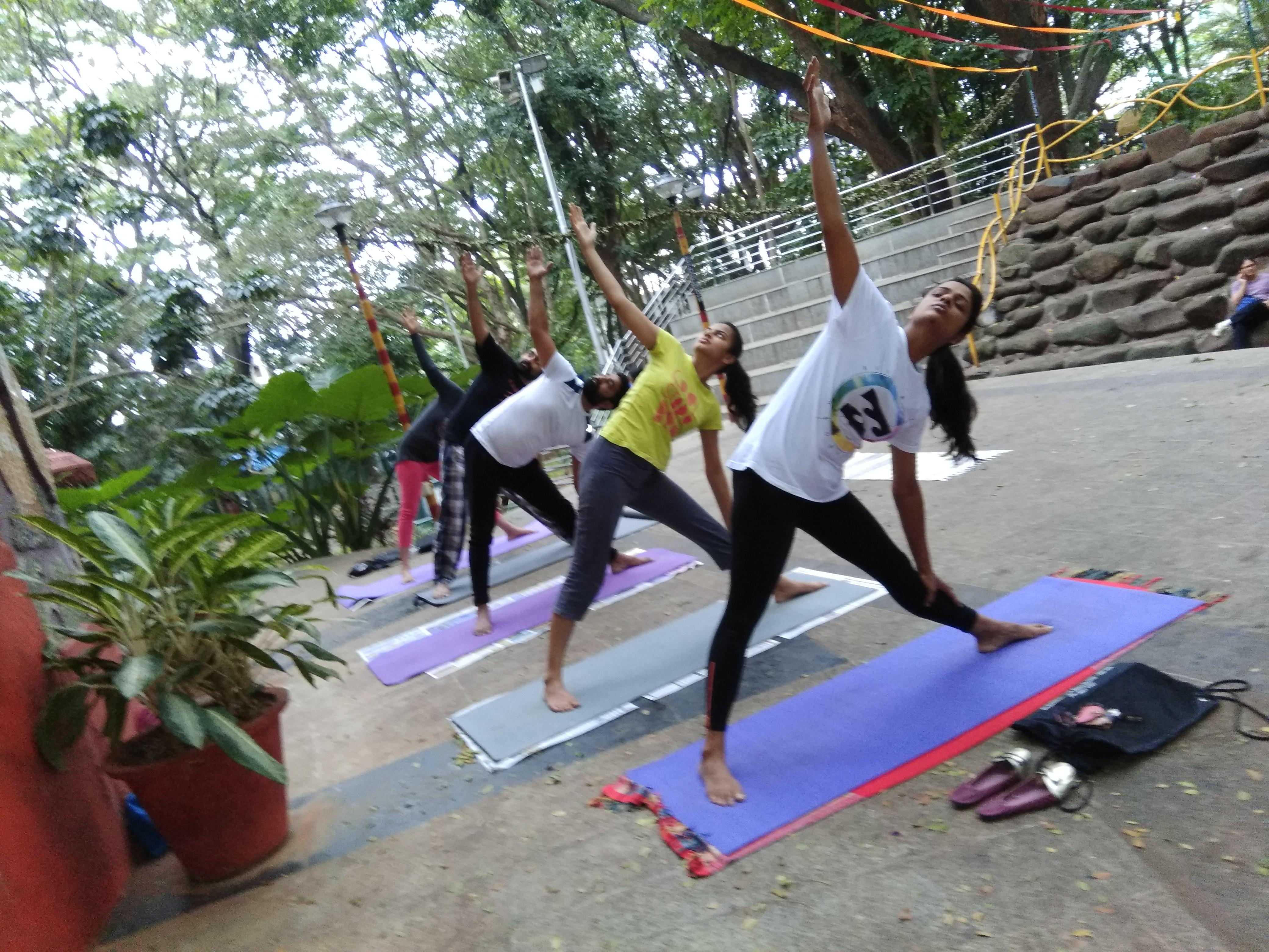 Yoga should not be an option, but a discipline.