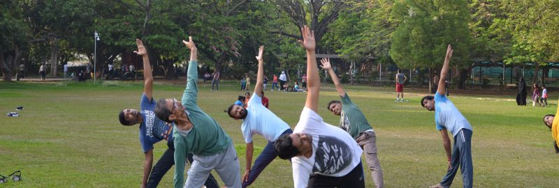 Yoga For Self Awareness under Open Sky