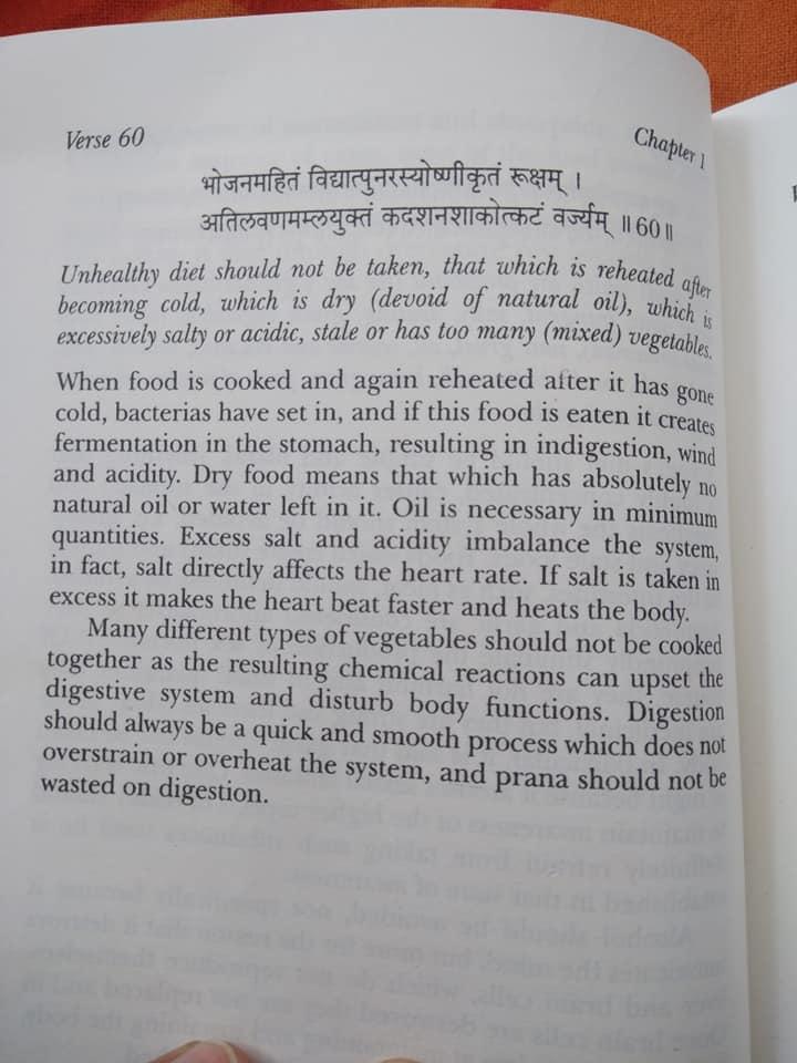 yogatute Unhealthy diet