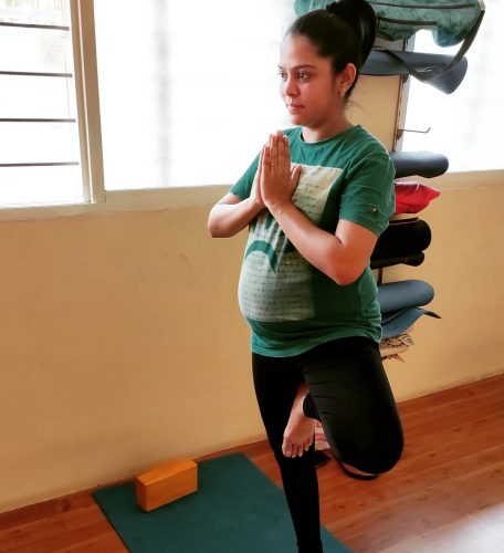 Bless the child with Antenatal Yoga