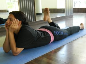 makarasana or crocodile pose  yogatute health