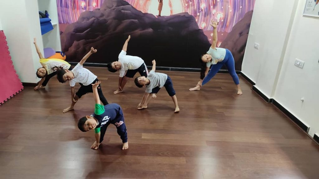 How much do you have to teach yoga to children?